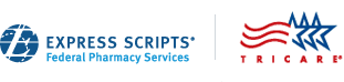 Express Scripts/Tricare logo